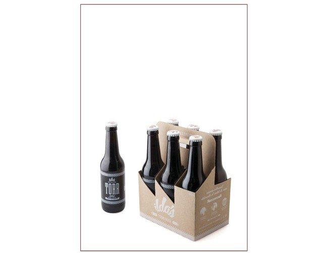 Caja 24 cervezas Torr 33cl. TORR será una buena compañera tanto de un plato consistente como de un postre con chocolate