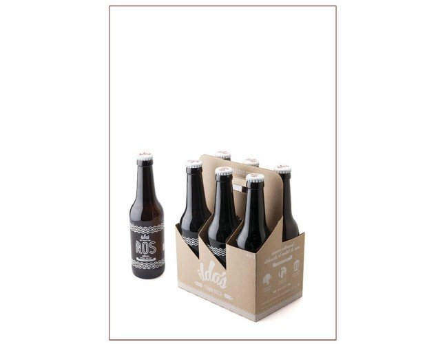 Caja 24 cervezas Ros 33cl. La cerveza rubia clásica