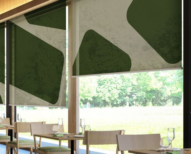 Cortinas para Hostelería.Estores screen para bares y restaurantes
