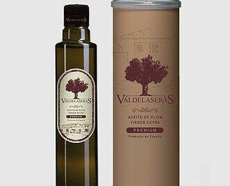 Valdelaseras Virgen Extra Premium. Es nuestro aceite más selecto. Destaca por su untuosidad y fragancia