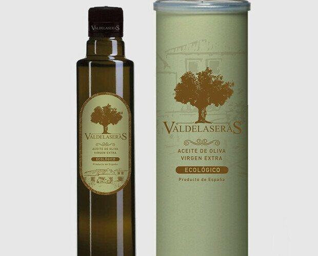 Valdelaseras Virgen Extra ECO. Destaca por sus características organolépticas y un toque afrutado de gran aroma