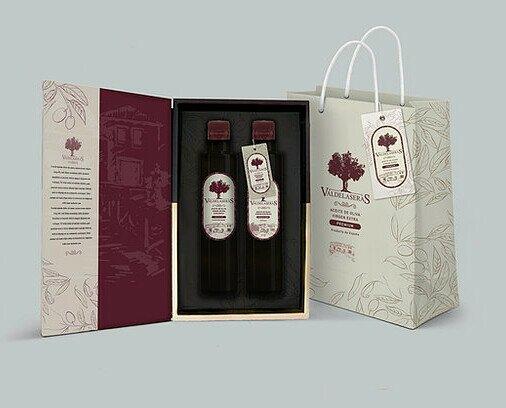 Pack lujo regalo premium. Nuestro mejor aceite en una lujosa presentación de edición limitada