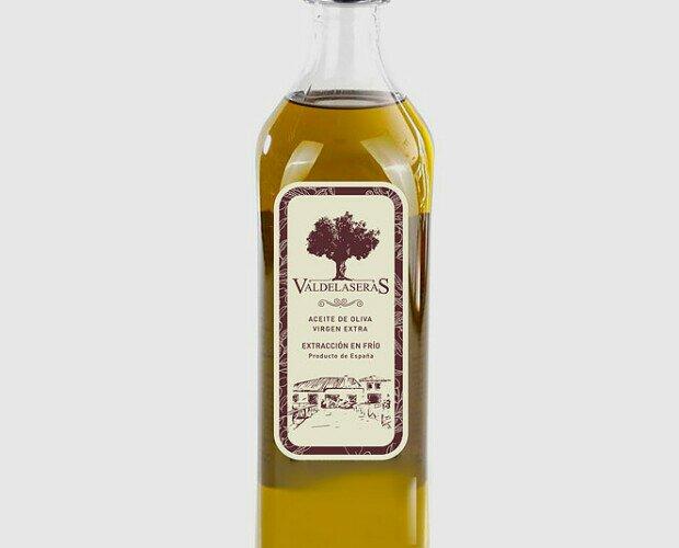 Valdelaseras AOVE. Botella de 1 litro de nuestro AOVE