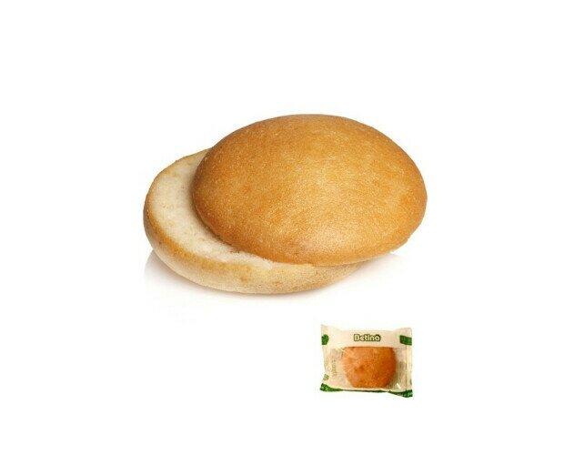 Pan Hamburguesa Sin Gluten. Mezcla la harina panificable sin gluten, la levadura en polvo y la sal