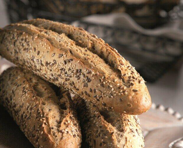 Pan con semillas. Utilizando materias primas de máxima calidad