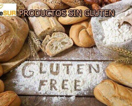 Sin Gluten. Variedad de productos sin gluten, embolsados individualmente