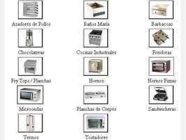 Proveedores Maquinaría para Hostelería