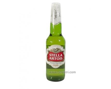 Cerveza Stella Artois 33 cl. Cerveza de origen belga