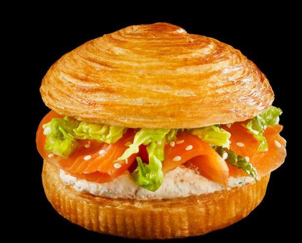 bun'n roll. pan hamburguesa masa croissant