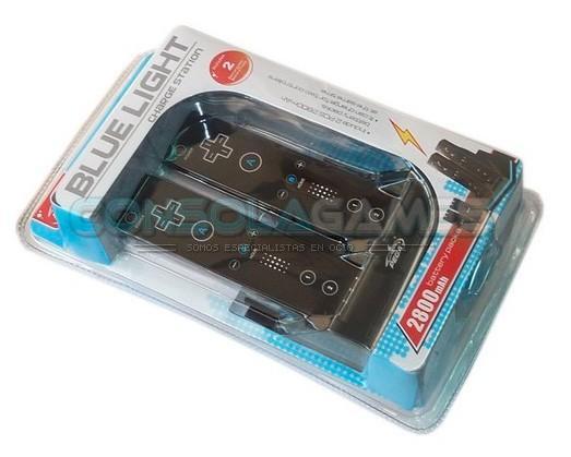Cargador con baterías. Todo tipo de accesorios para consolas
