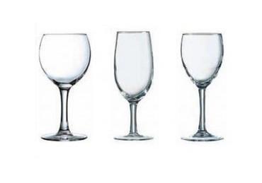 Cristalería.Copas y vasos de todo tipo