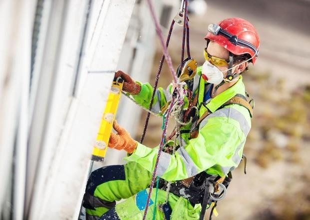 Arneses. Protección en trabajos verticales