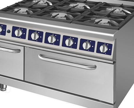 Cocinas industriales. Disponemos de todo tipo de cocinas industriales de sobremesa 600/650 lineas 700 o 900
