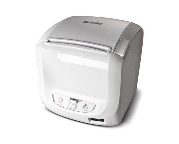 SAM4S Giant 100 Blanca. Dispone de un elegante diseño y una alta velocidad a la hora de imprimir