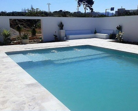 Construcción de piscinas. Excelentes acabados
