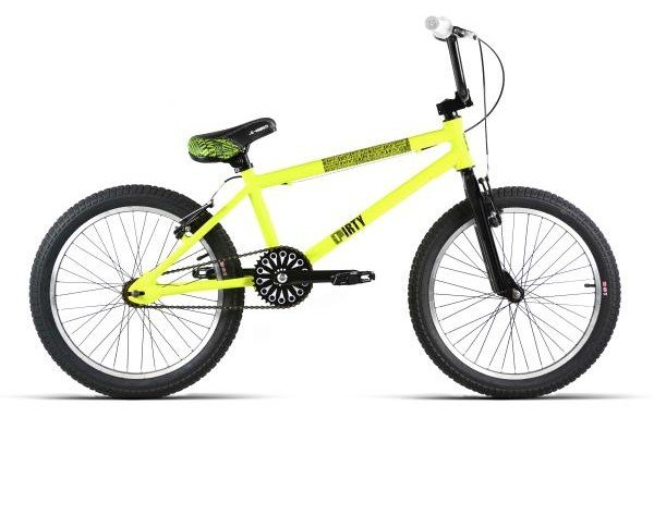 Bicicleta BMX amarilla. Calidad al mejor precio
