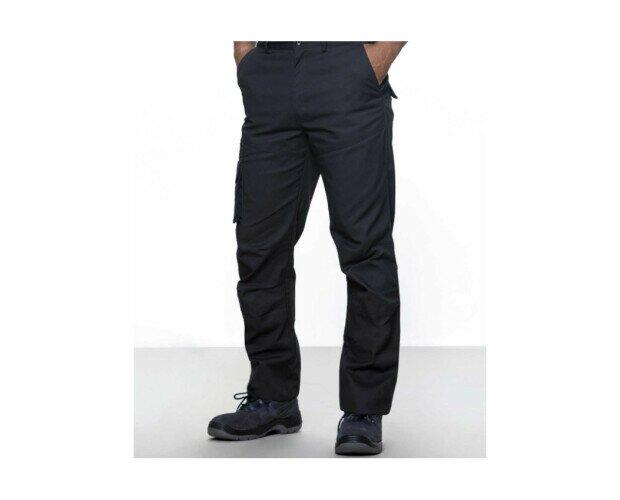 Pantalón Multibolsillos de Hombre. Cintura con elástico en los laterales y cierre central