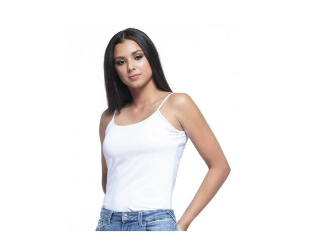 Camiseta Básica de Lycra. Disponible en blanco y negro y desde la talla S hasta la XL
