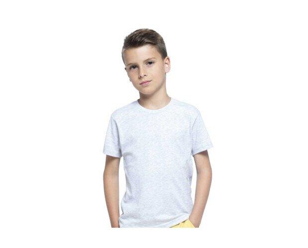 Camiseta de Manga Corta. Para niño, con cuello redondo y 100% algodón