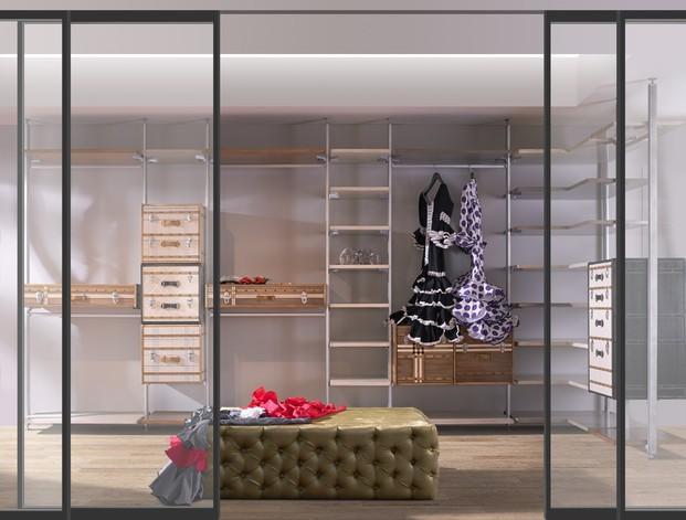 Vestidor _ Suite. Habitaciones Exclusivas con Glamour