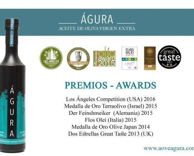 Premios internacionales. Aceite gourmet premiado internacionalmente