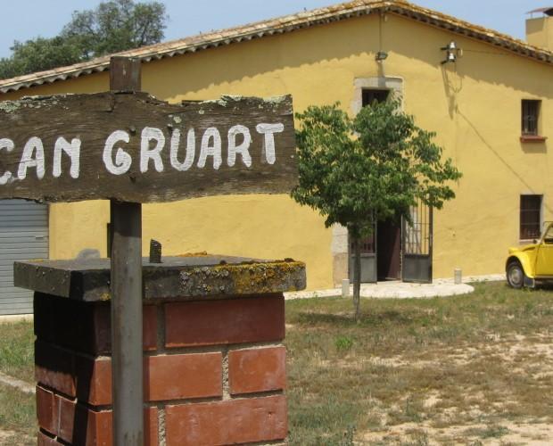 Can Gruart. Nuestra sede, una masia en medio de la naturaleza