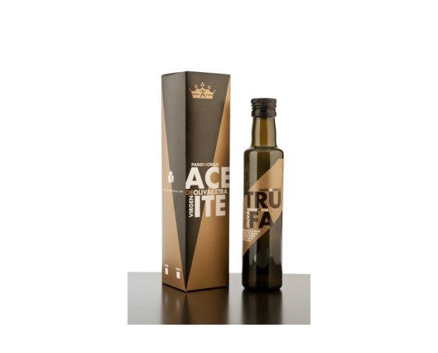 Aceite de oliva. Especialidad de Trufa