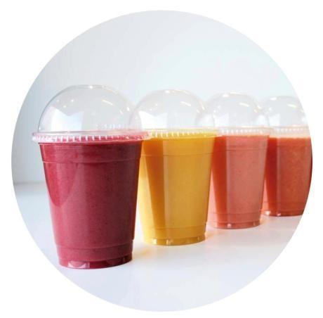 Fruta congelada para bebidas. Smoothies, batidos, granizados.