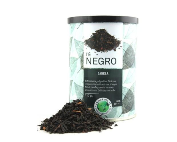 Bote de 300gr. Bote de té negro