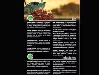 Carta de tés