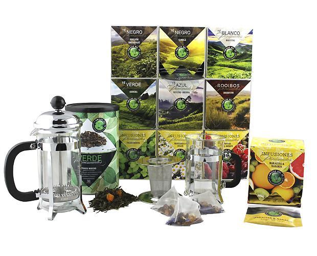 Tés e infusiones de calidad. Diferentes formatos de tés
