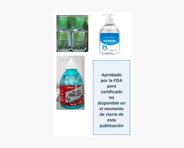 Desinfectante de Manos. Etiqueta personalizada a elección del cliente