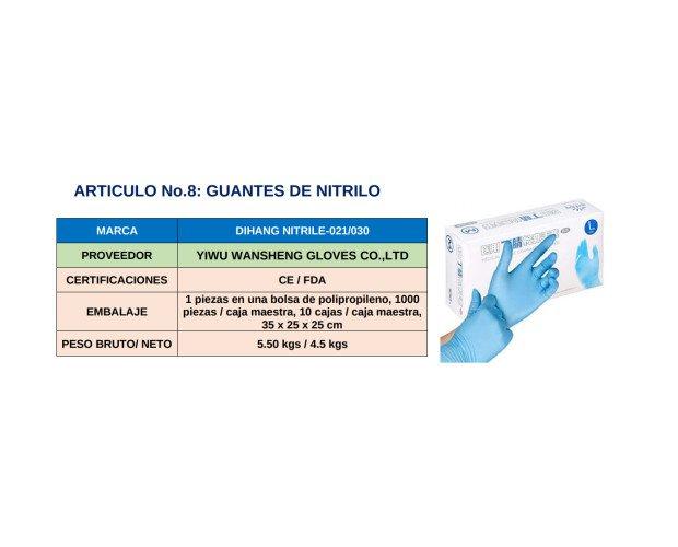 Guantes de Nitrilo. Excelente solución para la prevención del contagio