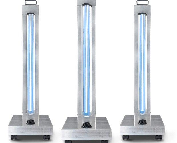 Lámparas Ultravioleta para Desinfección.Nuestra lampara UV-C mas versátil y eficaz, es la mediana de tamaño, si tiene una potencia de 150w, desinfecta espacios de hasta 100m2 en 1 hora y aporta la cantidad justa de Ozono, para purificar el
