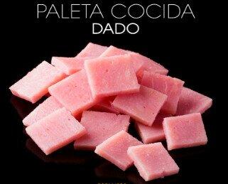 Paleta cocidas. Dados de paleta cocida de la mejor calidad