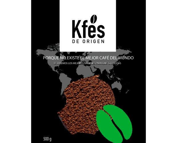 Café molido orgánico. Excelente café de origen hondureño