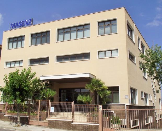 Nave Masenz. Edificio Masenz en Sant Just Desvern , Barcelona