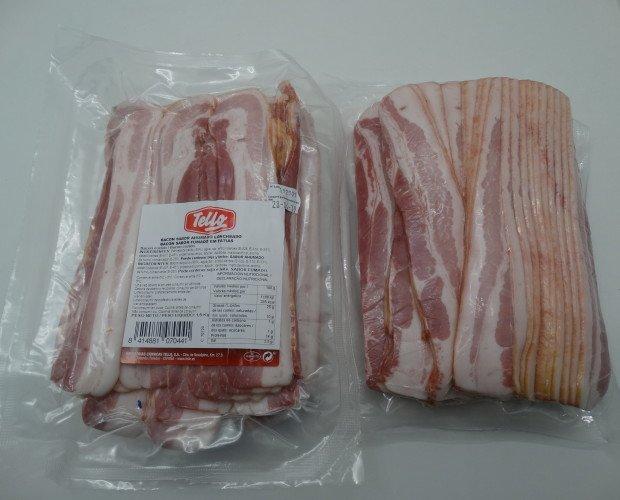 Bacon loncheado. Marca Tello