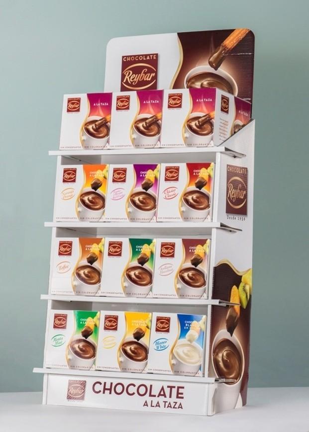 Chocolate taza. Variedad de sabores