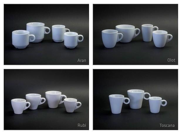 Porcelana. Variedad de modelos y diseños