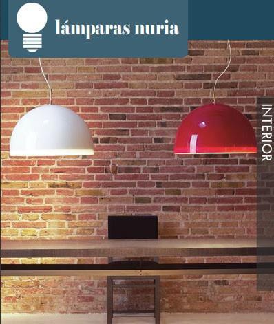 Lámparas Nuria. Variedad en lámparas de interior.