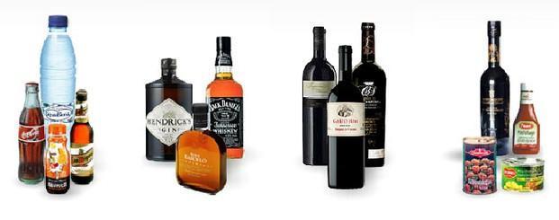 Licores y vinos. Whisky, ron, licores, gran variedad de vinos