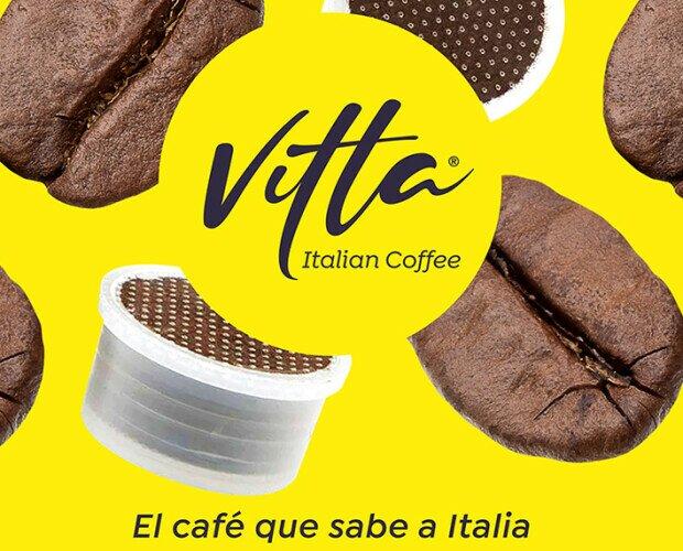 Cafe Vitta Italian Coffee. Disponemos de café en grano y capsula profesional de la mayor calidad.