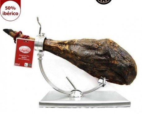 Jamón Ibérico de Bellota. Este jamón ha sido premiado en 7 ediciones de los Great Taste Awards