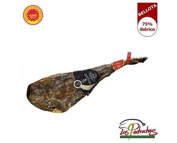Jamón de Bellota con DO Los Pedroches. Este jamón con DO Los Pedroches, se elabora de forma artesanal, y tiene una curación entre 30 y 40 meses