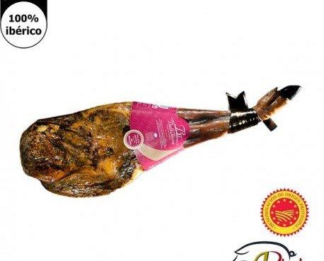 Paleta pata negra de Bellota. Tiene una curación de 20 a 30 meses..