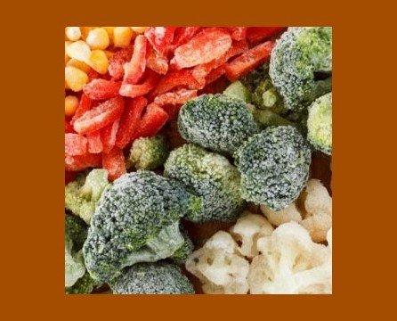 Verdura Congelada Hostelería. Ahorra espacio y gana tiempo de preparación de tus comidas