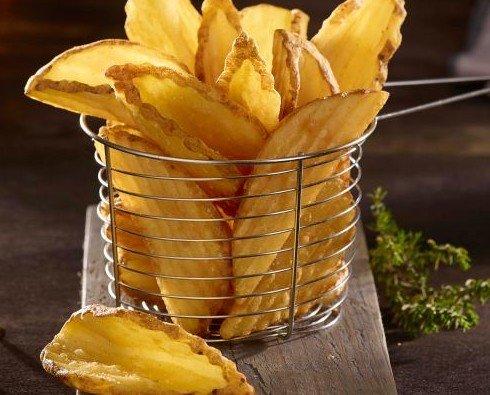 Patatas fritas McCain. Patatas fritas diferentes cortes