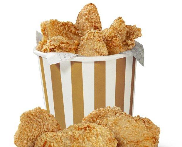 Precocinados cárnicos. Pollo Kentucky, tiras de pollo, croquetas, Nuggets, solomillo empanado, crujiburger..