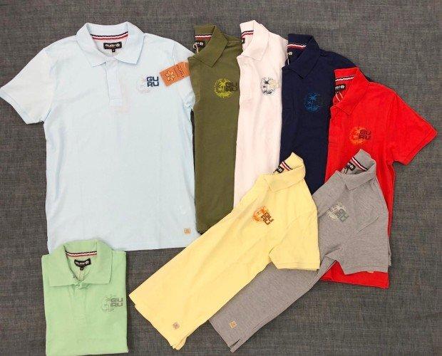 Chemises caballero. Variedad de colores